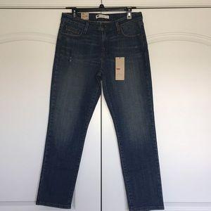 Levi's Mid Rise Skinny Jeans Slim Fit 12 Short